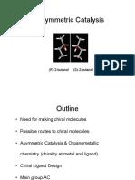 Organometallic Module 9