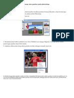 Cara Mengganti Background Image Atau Gambar Pada Photoshop