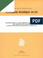 Investigacao Tecn. de Carvao
