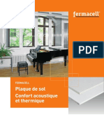 Cloison Placostil® SAD 160 Placoplatre® BA13 - EI 60 - 62dB - 3,05m - Placo®