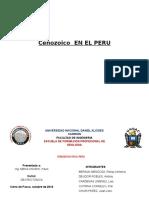 Cenozoico en EL PERU