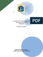 c. Panduan Ujian Praktik Smp Bing Kur 2006 (2018-2019)