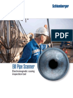 EM Pipe Scanner. Electromagnetic Casing Inspection Tool