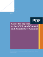 Counsel guide ICC