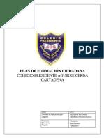 Plan Formación Ciudadana PAC 2018