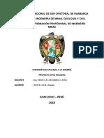 Proyecto Veta Milagro Informatica