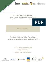 III Congreso Forestal de la Comunitat Valenciana