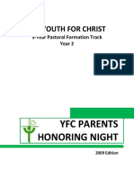 2 YFC Parents Honoring Night