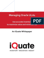 iQuate Whitepaper on Oracle ULA