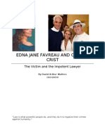 Edna Jane Favreau and Charlie Crist