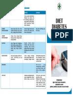 Brosur Diet Diabetes Melitus Kamla