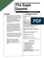 newsletter 11-2-18