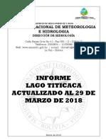 Informe lago Titicaca