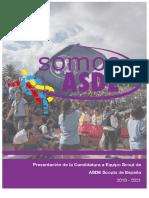 05. Proxecto Candidatura Somos ASDE 2018-2021