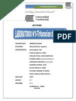 Informe de Mineralurgia 5 Final