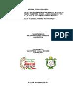Informe Diseño Ptap y Línea Impulsión (Final)
