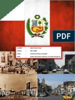 Análisis Ético de La Historia Del Perú y El Mundo en El Siglo XX