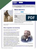 How Metal Detectors Work - Explain That Stuff