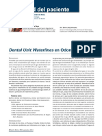 Dental Unit Waterline en Odontología