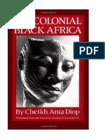 Diop, Cheikh Anta - África Preta Pré-colonial
