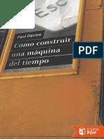 Como Construir Una Maquina Del - Paul Davies