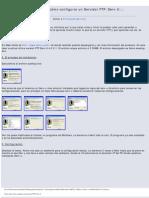 Todo sobre cómo configurar un Servidor FTP