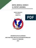 Mrin Genomic Report - Andre Fernandes