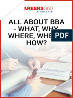 All About BBA