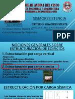 Criterios sismoresistente