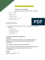 Actividad Final Matematicas G.