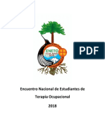 Encuentro Nacional de Estudiantes de Terapia Ocupacional 2018