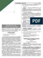 Ley N°048-2011-PCM