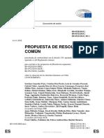 Propuesta de resolución sobre la situación de los derechos humanos en Cuba