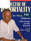 nisargadatta maharaj - ebook - the nectar of immortality (complete)