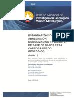 Estandar Para Simbolizacion Geológica_ministerio Ecuador