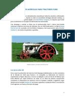 Repuestos agrícolas Ford