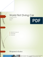 World First Diving Car