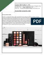 Focallure Makeup Catalog-2018