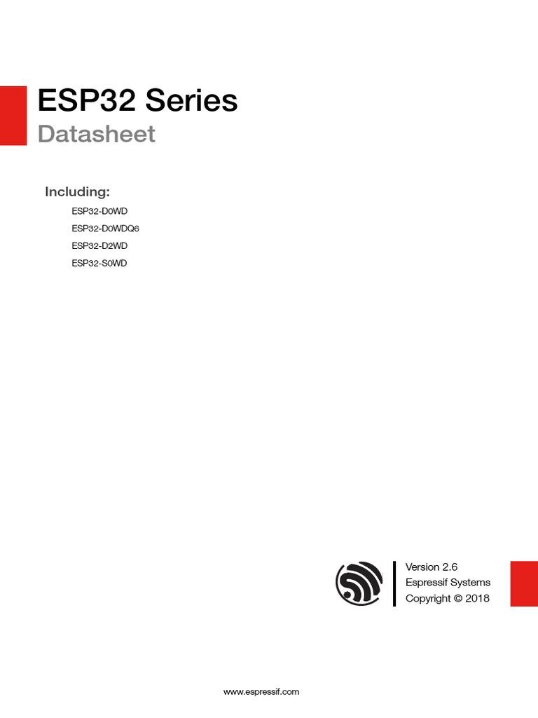 esp32_datasheet_en (2) | Flash Memory | Random Access Memory