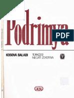 Ali Podrimya - Kosova Baladı - Tekin Yay-1986-Cs