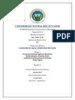 Informe 1 Contenido d Ehumedad
