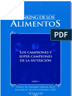 """Ranking de los Alimentos PDF Demo Capitulo 2 """"Proteinas"""""""