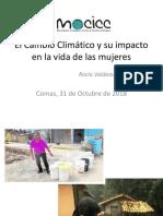 El Cambio Climático y Su Impacto en Las Mujeres