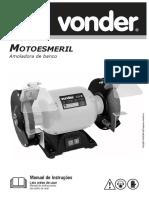 Manual de Instrução Moto Esmeril Vonder