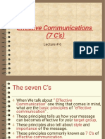 7 C of effective business communication