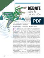 debate sobre la dolarizacion