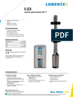 Manual Bomba Solar Lorentz PS1800 Hr-23