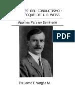 Weiss Origenes Conductismo