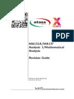 MA131 - Analysis I