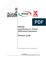 MA250 - Intro to PDEs